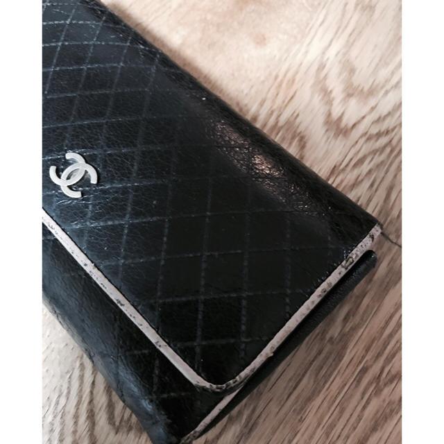 CHANEL(シャネル)のCHANEL■シャネル■正規店購入■財布■BK レディースのファッション小物(財布)の商品写真