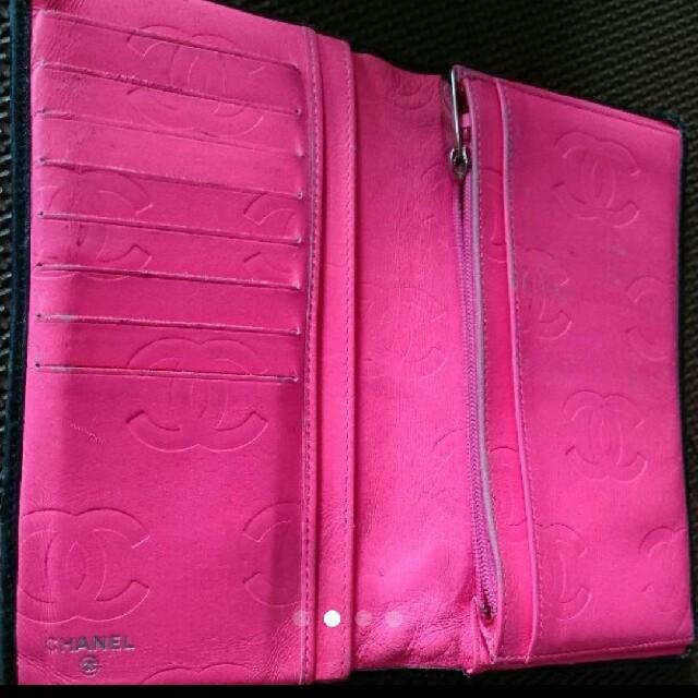 CHANEL(シャネル)のCHANEL カンボンライン 長財布 レディースのファッション小物(財布)の商品写真