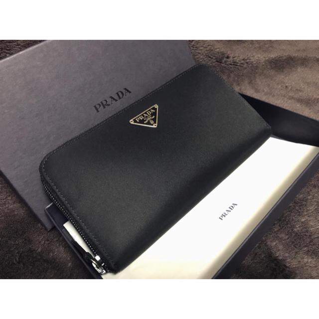 PRADA(プラダ)の◆新品◆プラダ(PRADA) 長財布 ラウンドファスナー レディースのファッション小物(財布)の商品写真