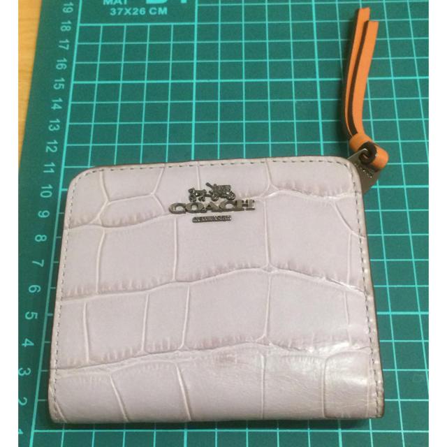 COACH(コーチ)の値下げ★美品★ コーチ 二つ折り財布 レディースのファッション小物(財布)の商品写真