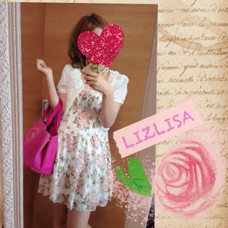 リズリサ(LIZ LISA)のリズリサ♡パワネ花柄ワンピ♡送料込み(ミニワンピース)