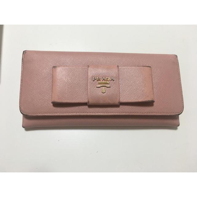 PRADA(プラダ)の長財布 レディースのファッション小物(財布)の商品写真