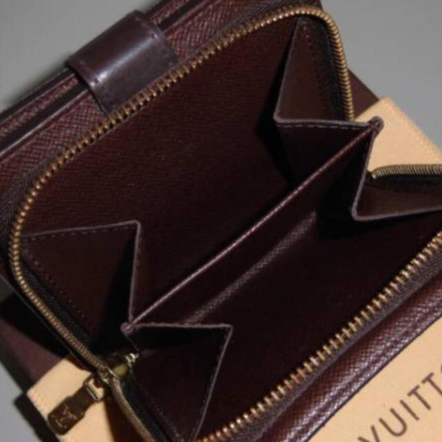 LOUIS VUITTON(ルイヴィトン)のLOUIS VUITTON ダミエ コンパクトジップ エベヌ レディースのファッション小物(財布)の商品写真
