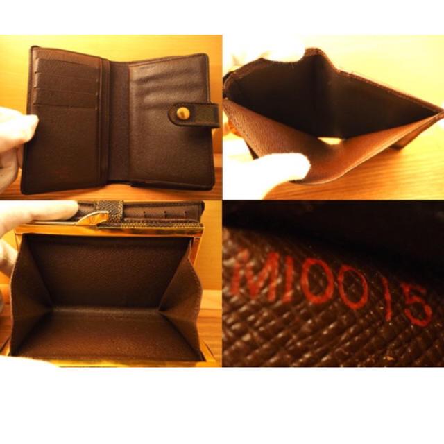 LOUIS VUITTON(ルイヴィトン)のルイヴィトン ダミエ がま口 財布  レディースのファッション小物(財布)の商品写真