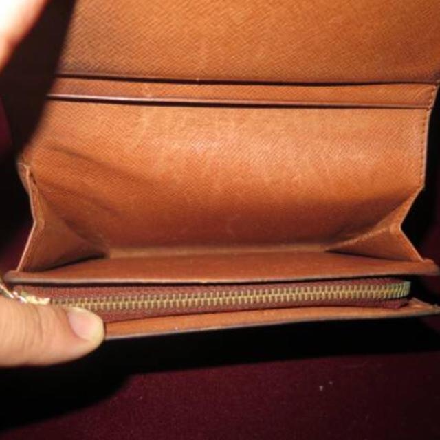 LOUIS VUITTON(ルイヴィトン)のルイヴィトン L型ファスナー モノグラム レディースのファッション小物(財布)の商品写真
