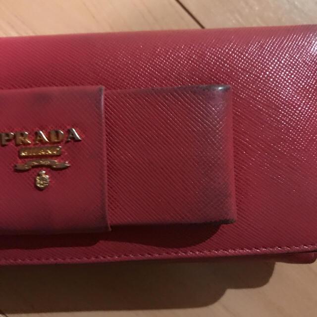 PRADA(プラダ)の本物 PRADA 長財布 レディースのファッション小物(財布)の商品写真