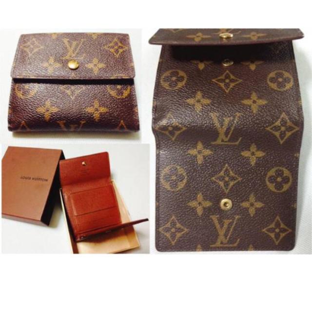 LOUIS VUITTON(ルイヴィトン)の二つ折り/財布/外側良/ルイ・ヴィトン レディースのファッション小物(財布)の商品写真