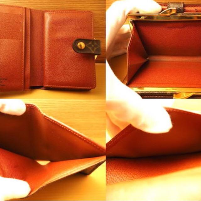 LOUIS VUITTON(ルイヴィトン)のルイヴィトン モノグラム がま口 財布  レディースのファッション小物(財布)の商品写真