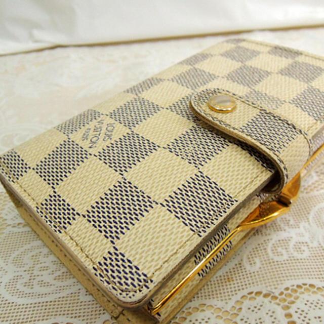 LOUIS VUITTON(ルイヴィトン)のルイヴィトン ガマ口財布 アズール ポルトフォイユヴィエノワ  レディースのファッション小物(財布)の商品写真
