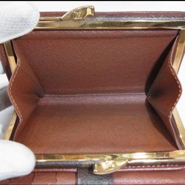 LOUIS VUITTON(ルイヴィトン)のあーさん様 専用 ルイヴィトン ガマ口財布 ヴィエノワ モノグラム  レディースのファッション小物(財布)の商品写真