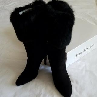 ピンキーアンドダイアン(Pinky&Dianne)の新品 Pinky&Dianne ファーブーツ 22cm(ブーツ)