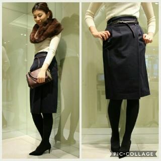 ノーブル(Noble)のnoble スピック & スパン スカート(ひざ丈スカート)