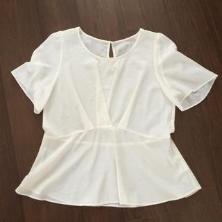 ロペピクニック(Rope' Picnic)のロペピクニック 半袖シャツ カットソー Tシャツ オフホワイト(Tシャツ/カットソー(半袖/袖なし))