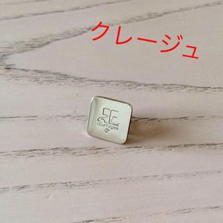 クレージュ(Courreges)のクレージュ ピンブローチ☆美品☆(ブローチ/コサージュ)