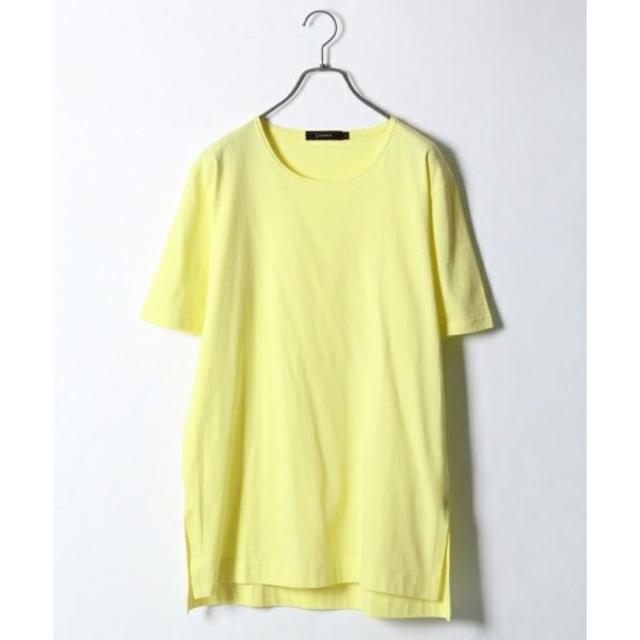 RAGEBLUE(レイジブルー)の【新品】RAGEBLUE 抗菌防臭 コーマロングスリットカットソー メンズのトップス(Tシャツ/カットソー(半袖/袖なし))の商品写真