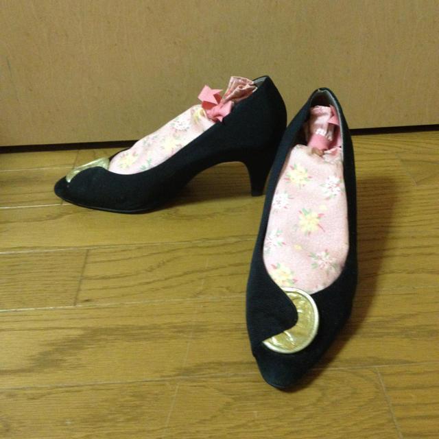 みき様お取り置き超お値下げ素敵なパンプス レディースの靴/シューズ(ハイヒール/パンプス)の商品写真