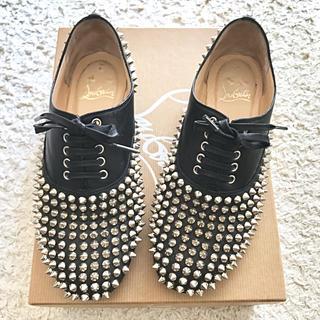 クリスチャンルブタン(Christian Louboutin)のChristianLouboutinルブタンスパイクオックスフォード(ローファー/革靴)