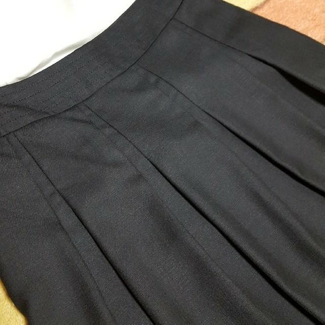 ブラックフレアスカート未使用品♪ レディースのスカート(ひざ丈スカート)の商品写真