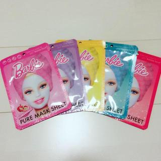 バービー(Barbie)のBarbie フェイスマスク パック(パック/フェイスマスク)