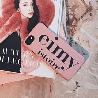 エイミーイストワール(eimy istoire)の大人気♡エイミーロゴiPhoneケース(その他)