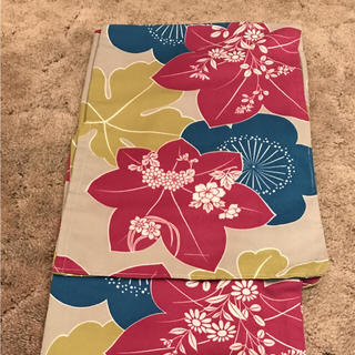 ヒロミチナカノ(HIROMICHI NAKANO)の新品未使用 洗える着物 単衣小紋 しつけ付き 最終価格!(着物)