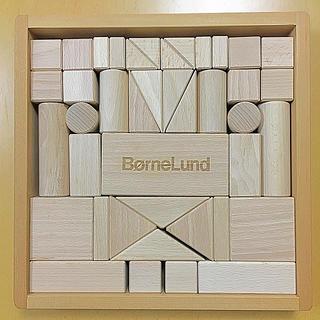 ボーネルンド(BorneLund)の【美品】ボーネルンド 積み木 Sサイズ(積み木/ブロック)