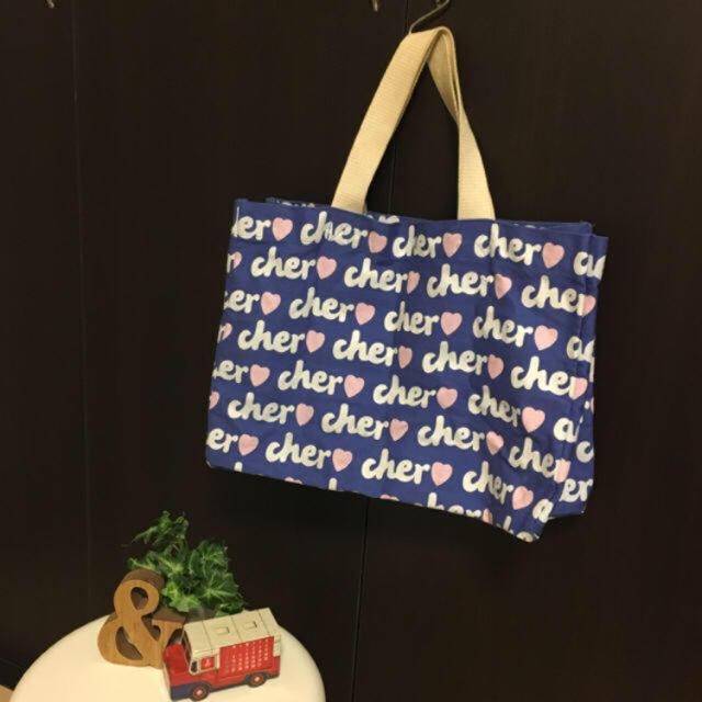Cher(シェル)のCher トートバッグ♡ SWEET付録 レディースのバッグ(トートバッグ)の商品写真