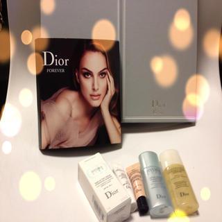 ディオール(Dior)のDior♡非売品スタンド三面鏡&サンプル(セット/コーデ)