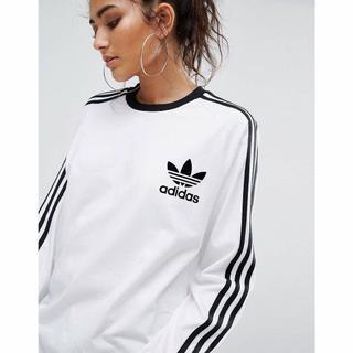 アディダス(adidas)のアディダス ロングスリーブT Mサイズ(Tシャツ/カットソー(半袖/袖なし))