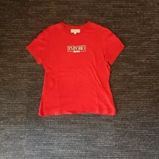 brand new b3028 9cb20 ちゃんここ様専用ページエンポリオ・アルマーニの赤Tシャツ☆