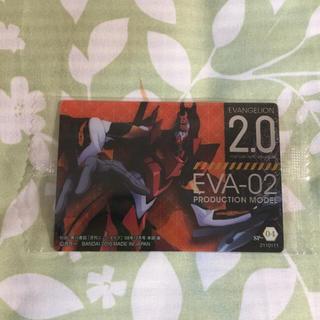 バンダイ(BANDAI)のエヴァ【ウエハース カード】(カード)
