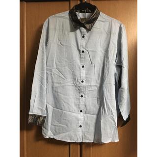 ドスチ(Dosch)のブルーシャツ(シャツ/ブラウス(長袖/七分))