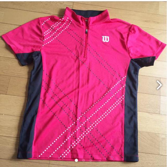 wilson(ウィルソン)のwilson シャツ スポーツ/アウトドアのテニス(ウェア)の商品写真