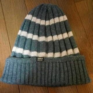 エーグル(AIGLE)のエーグルのニット帽(ニット帽/ビーニー)