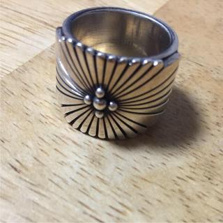 ナバホ族 Navajo族 ハワードネルソン インディアンジュエリー(リング(指輪))