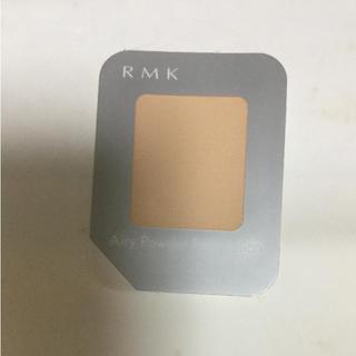 アールエムケー(RMK)のRMK エアリーパウダーファンデーション 102 サンプル(ファンデーション)