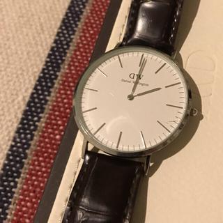 ダニエルウェリントン(Daniel Wellington)のDaniel Wellington 時計 ベルト焦茶(腕時計(アナログ))
