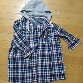 コンバース(CONVERSE)のひーちゃんさま専用、コンバースのチェックシャツ(シャツ/ブラウス(長袖/七分))