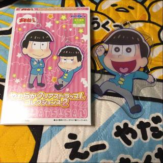 おそ松さん やわらかクリアストラップL コレクションズ 十四松(キーホルダー)