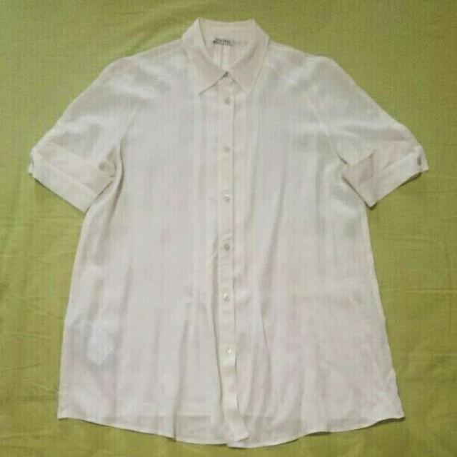 miumiu(ミュウミュウ)の38 MIUMIU シルク ブラウス レディースのトップス(シャツ/ブラウス(長袖/七分))の商品写真