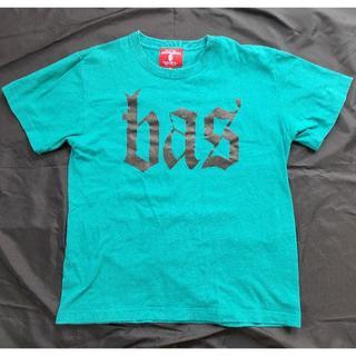 アフターベース(AFTERBASE)のafterbase アフターベース bas Tシャツ M ターコイズ 完売品 (Tシャツ/カットソー(半袖/袖なし))