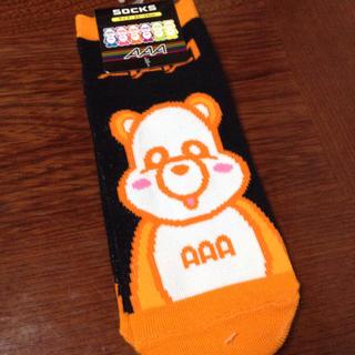 トリプルエー(AAA)のAAA え〜パンダ靴下(靴下/タイツ)