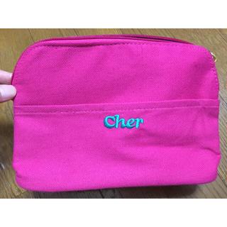 シェル(Cher)の雑誌付録☆ ポーチ cher(ポーチ)