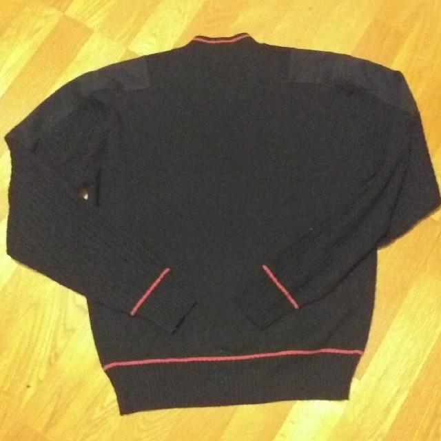 holldes チルデンセーター 黒 メンズのトップス(ニット/セーター)の商品写真