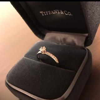 ティファニー(Tiffany & Co.)のティファニーダイヤリング元値70万エンゲージリング(リング(指輪))