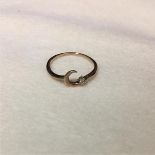 アガット(agete)のアガット☆K10 ピンキーリング(リング(指輪))