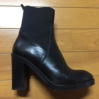 ファビオルスコーニ(FABIO RUSCONI)の【もものこ様専用】ファビオルスコーニ サイドゴア ブーツ(ブーツ)